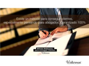 marketing juridico: metodo walterman especial abogados